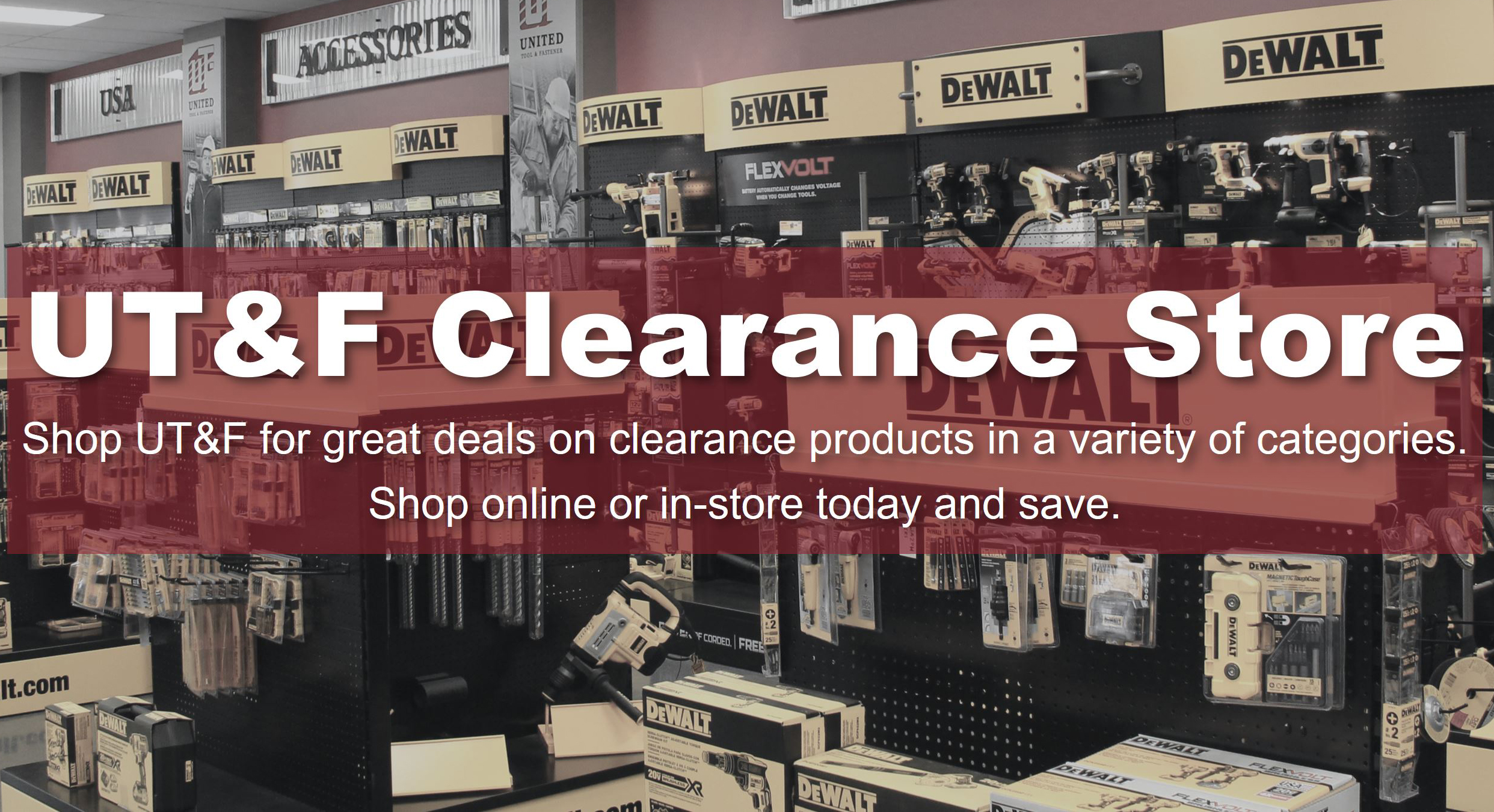 Clearance Flash Sale
