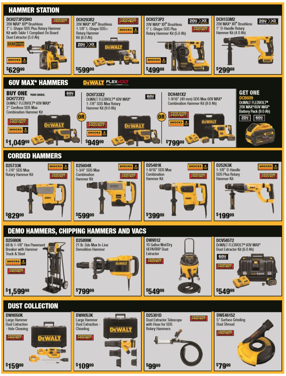 DeWalt Fall Specials