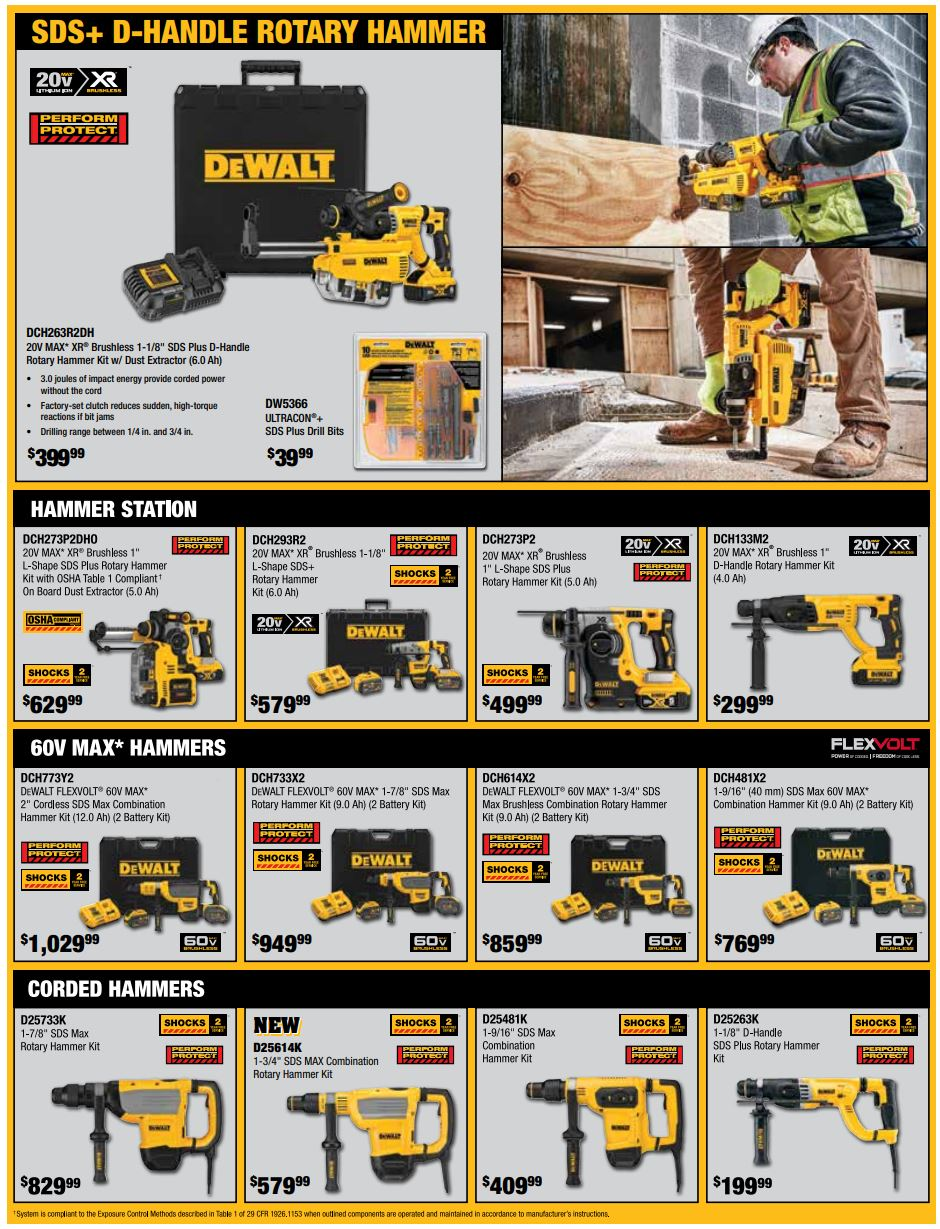 DeWalt Winter 2020 Sale