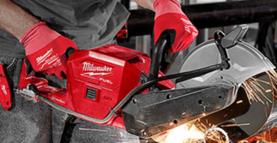 "Milwaukee Releases New M18 FUEL™ 9"" Cut-Off Saw"